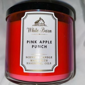 Pink apple punch 🍎 3wick candle ✨